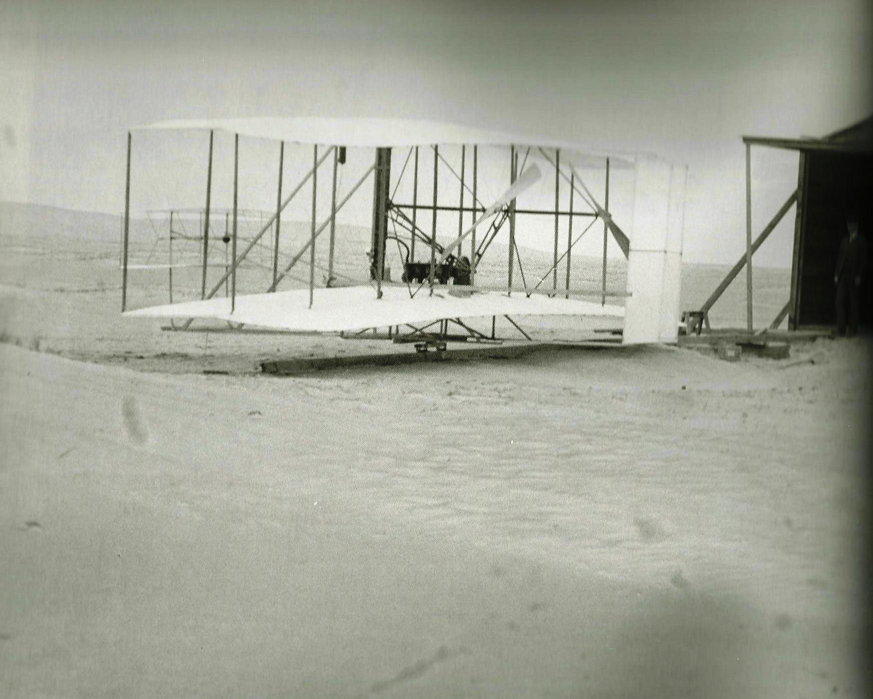 First Flight Kitty Hawk 1903 for the wright brothers | blue ridge vintage