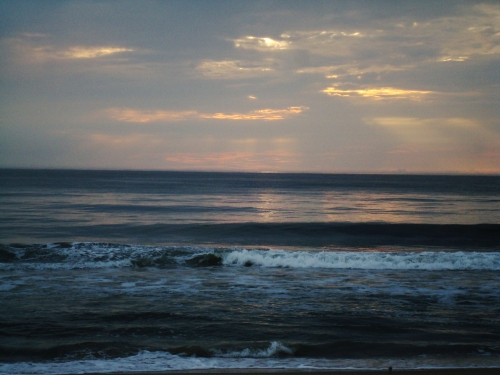 Sunrise over the ocean, Nags Head