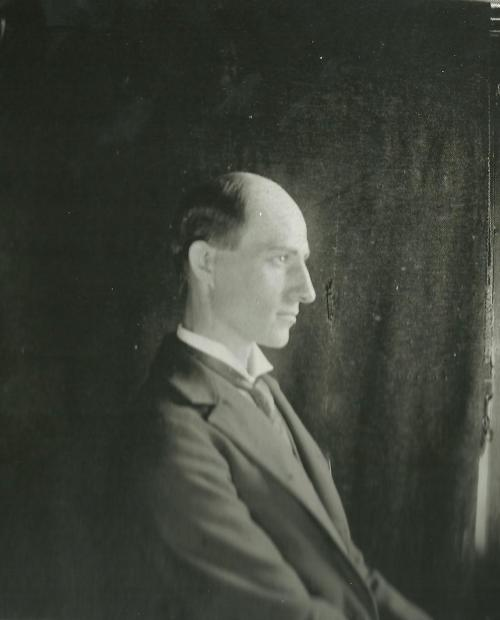 Wilbur Wright, 1897.  Photo courtesy of the Library of Congress.