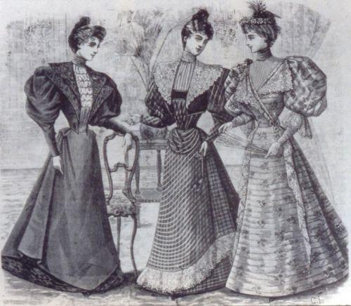 1890s Fashion Plate
