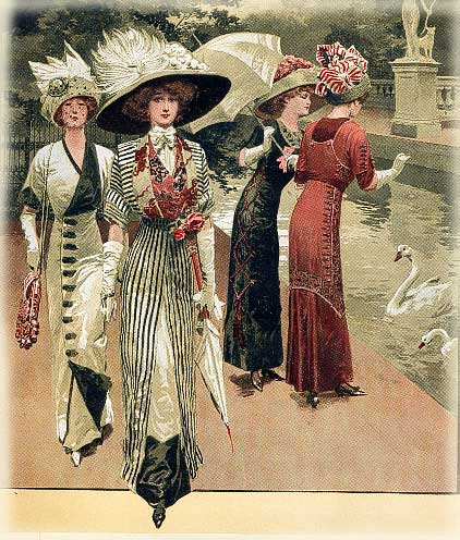 Fashion plate from 1912.