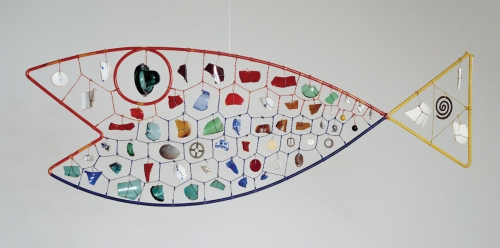 Alexander Calder's Fish, 1944.  Photo courtesy of the Hirshhorn Museum