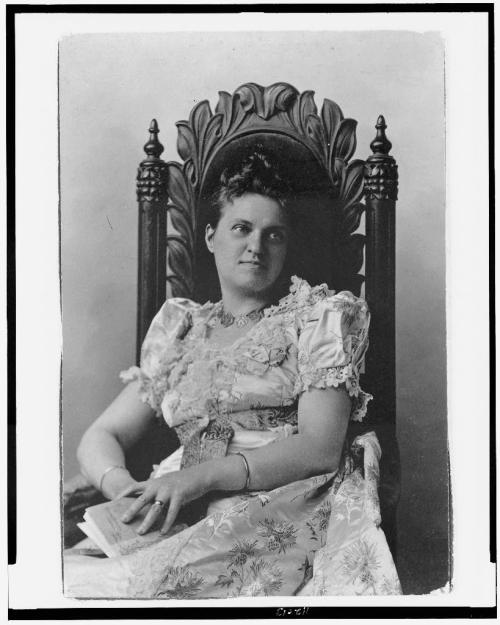Anna Katharine Green, c. 1870. Photo courtesy of the Library of Congress.