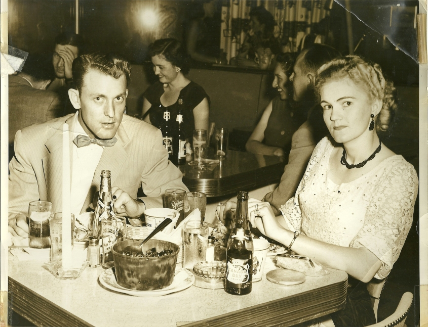 Ernestine and Edward, early 1950s.