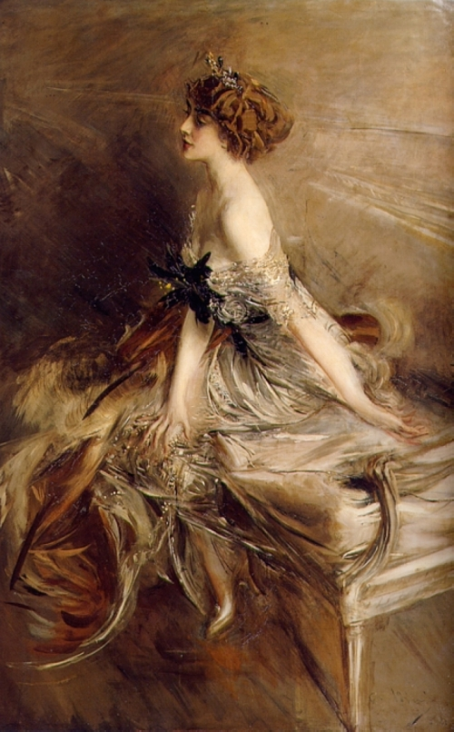Giovanni Boldini's Portrait of Princess Marthe Lucile Bibesco, 1911.