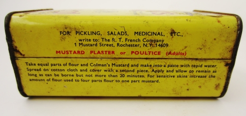 Mustard Poultice