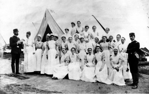 Nurses during the Spanish American War