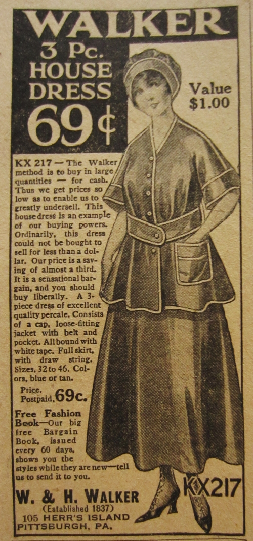 Walker Advertisement, The Gentlewoman, December 1916.
