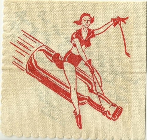 Cocktail napkin, 1946