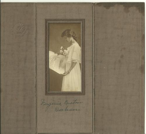 Virginia Burton Graham, graduation