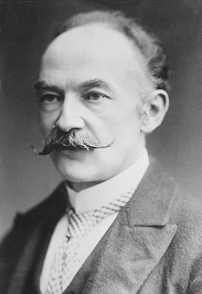 Thomas Hardy.  Photo courtesy of the Library of Congress.