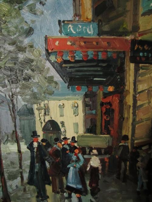 Detail of street scene