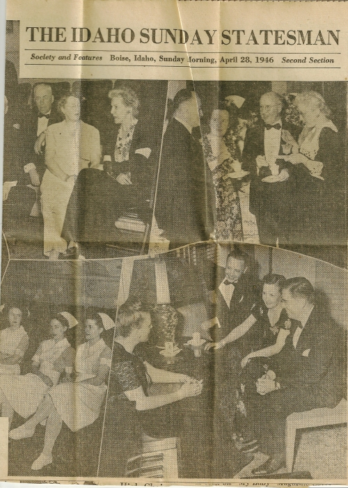 Scan 2 of the Society and Features section of The Idaho Sunday Statesman, April 28, 1946