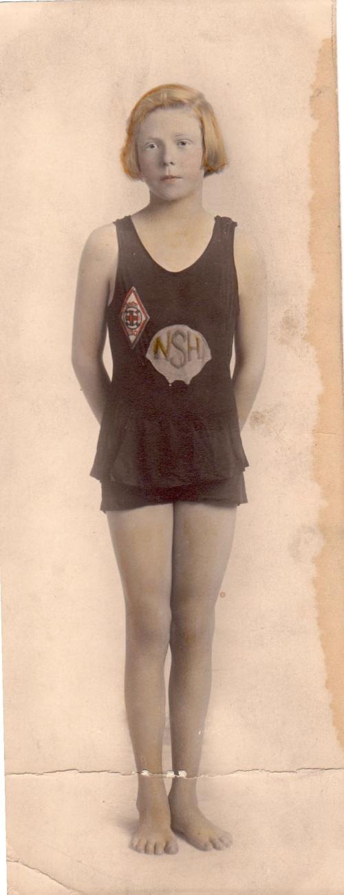 Corinne Condon, age 13, 1924.