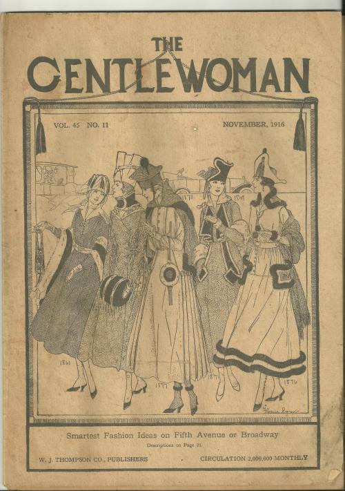gentlewoman, nov 1916