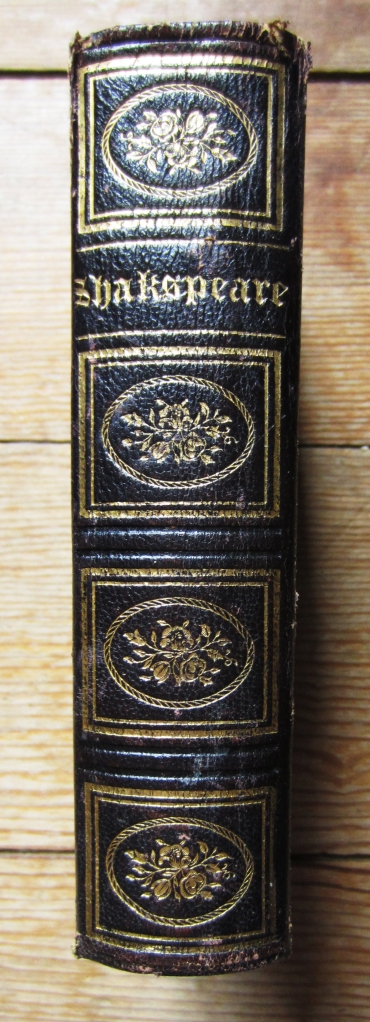 shakespeare spine