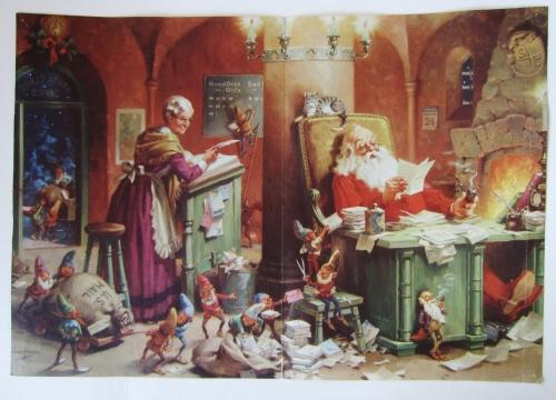 George Hinke's 'The Office of Santa Claus'