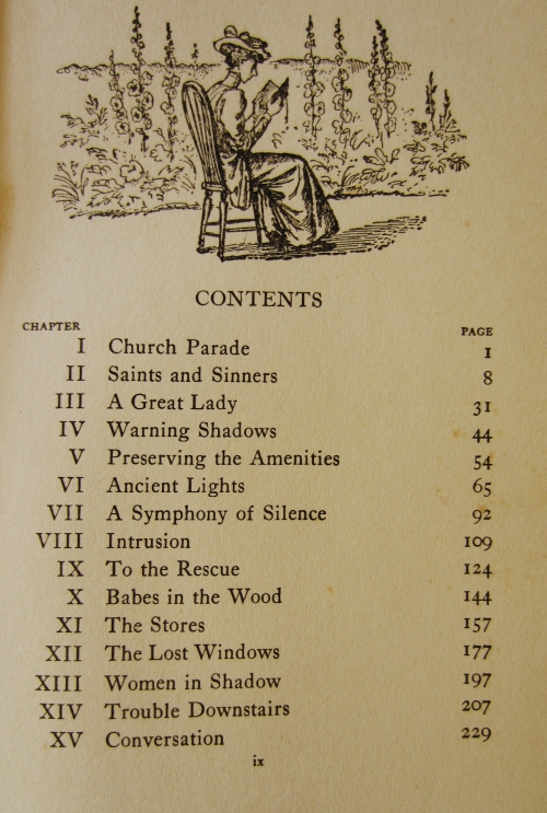 Table of Contents Illustration