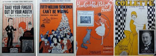 Some of the more interesting coverpages. All published in 1926/7.