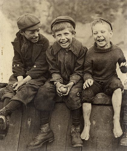 Photo of three boys by Frank Meadow Sutcliffe.  Photo courtesy of the Preus Museum and Luminous Lint.