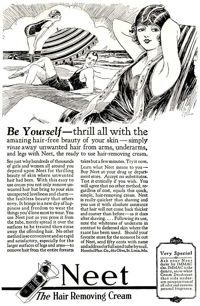 Neet, 1925.  Image courtesy of Retro Adverto.