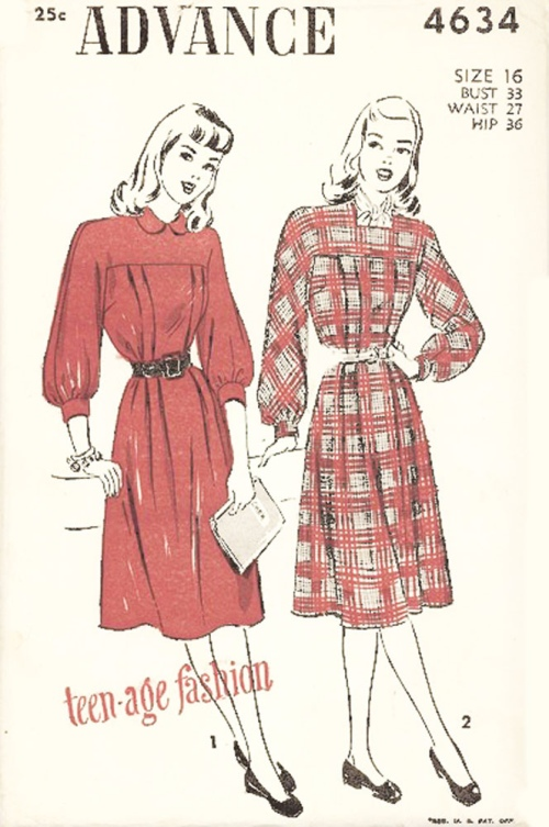 I imagine Clarese's coral pinstripe dress similar to the one on the right, with the bow around the neck.