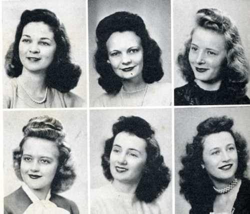 Pompadours, 1946.