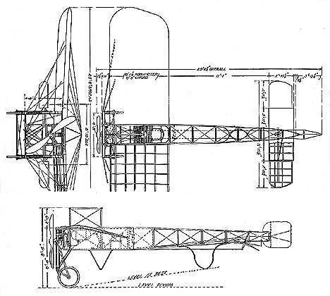 Bleriot IX Monoplane design