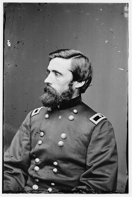 General John Rawlins.  Image courtesy of the Library of Congress.