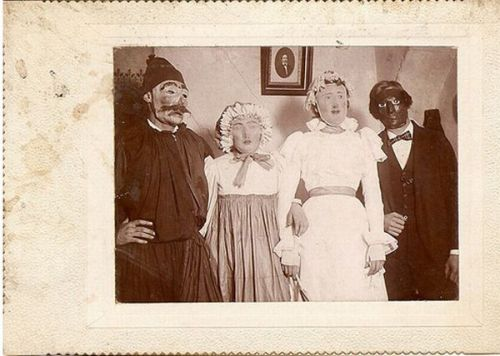 Scary-Vintage-Halloween-Costumes-of-Group