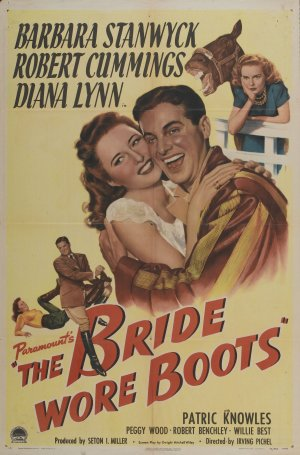 Paramounts, 'The Bride Wore Boots,' which premiered in 1946.