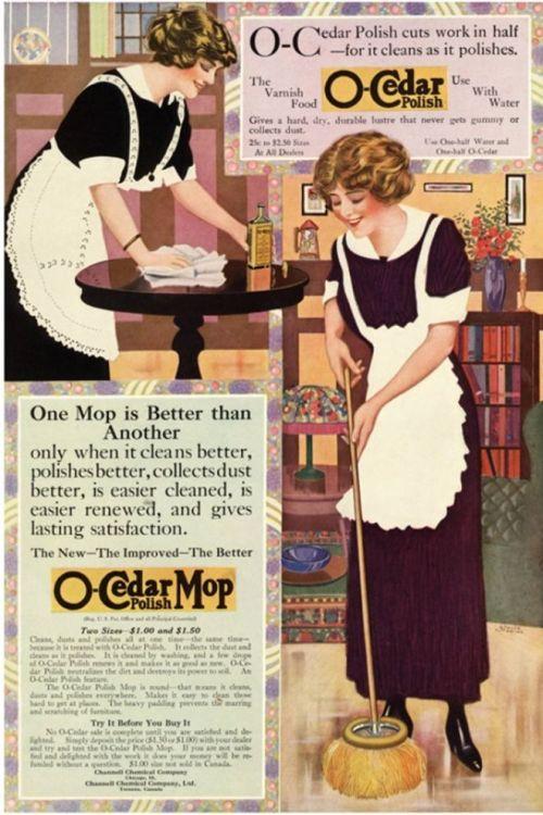 O-Cedar Polish & Mop