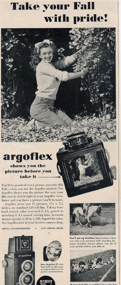 1946 Argoflex - with a viewfinder!